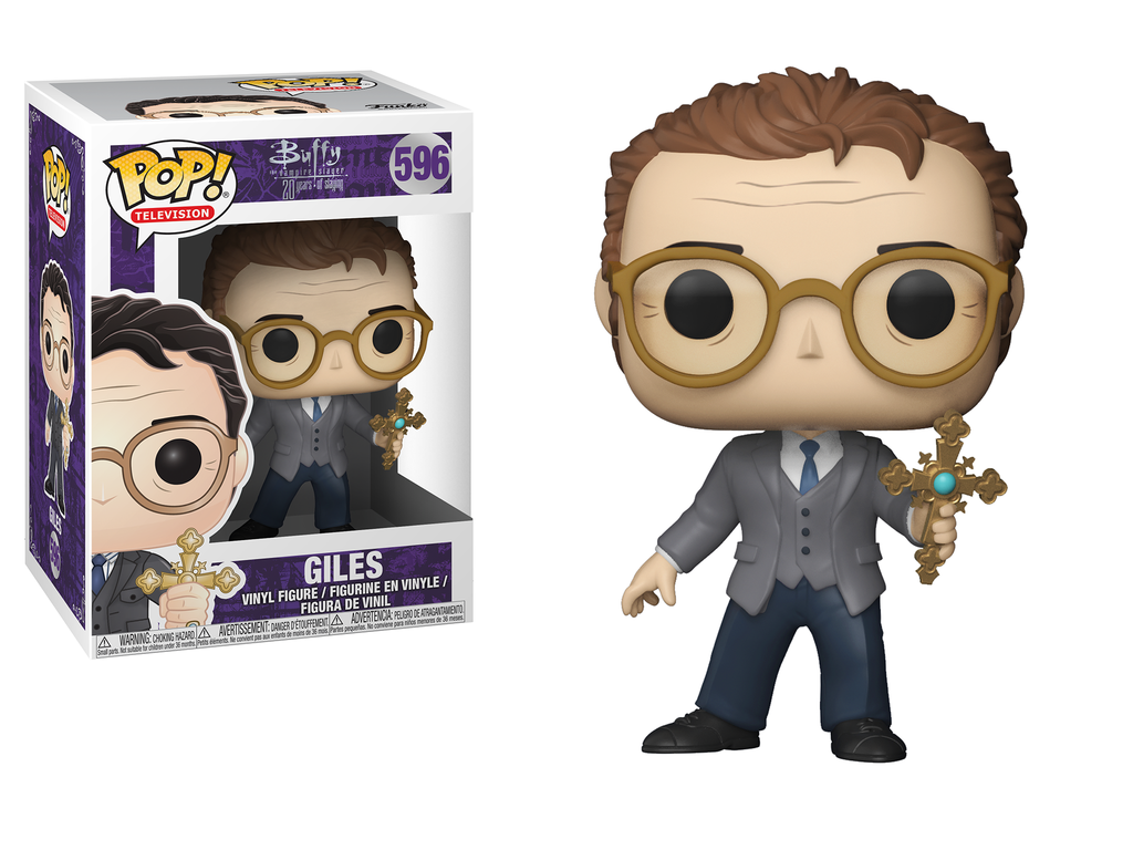 Funko POP TV Buffy the Vampire Slayer Giles Figure #596