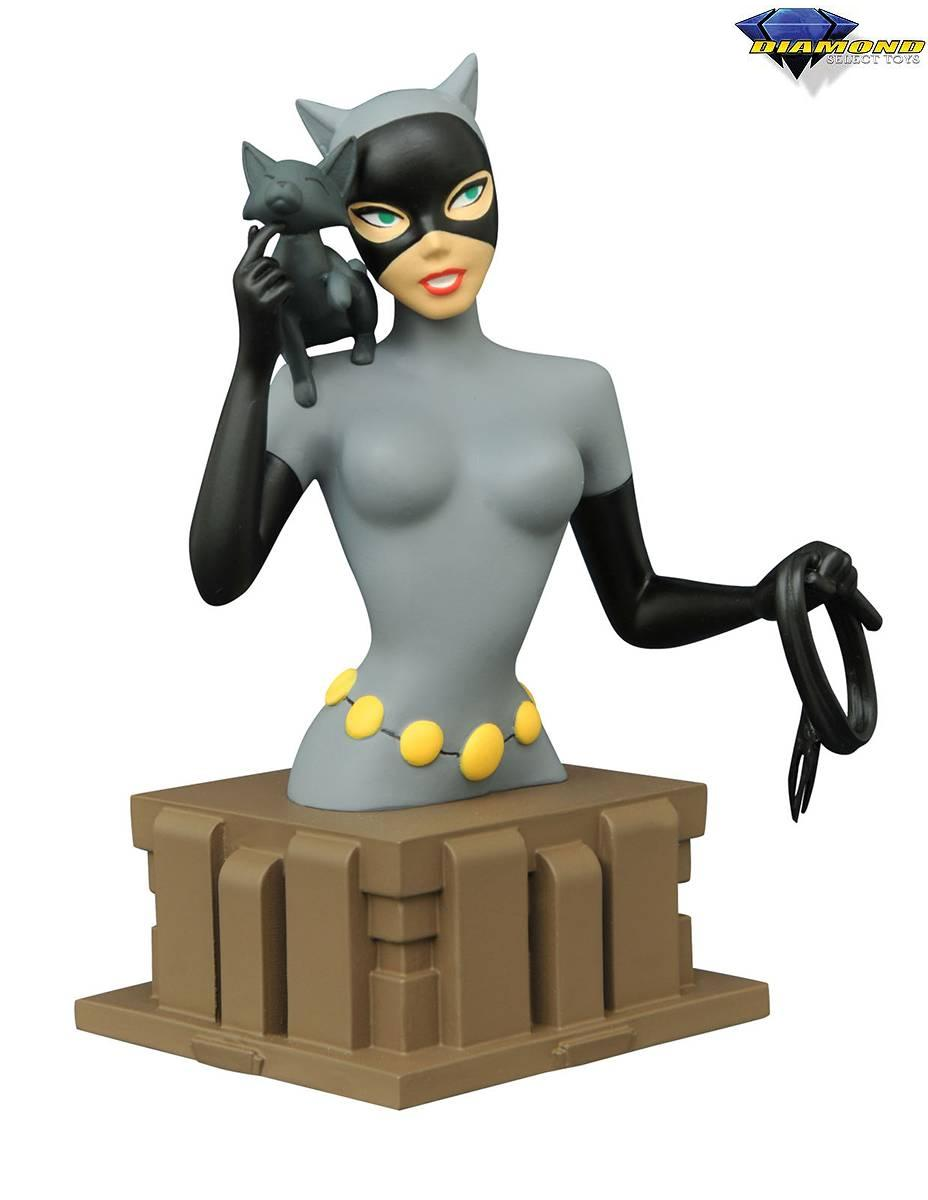 Diamond DC Comics Batman Animated Series Catwoman Bust