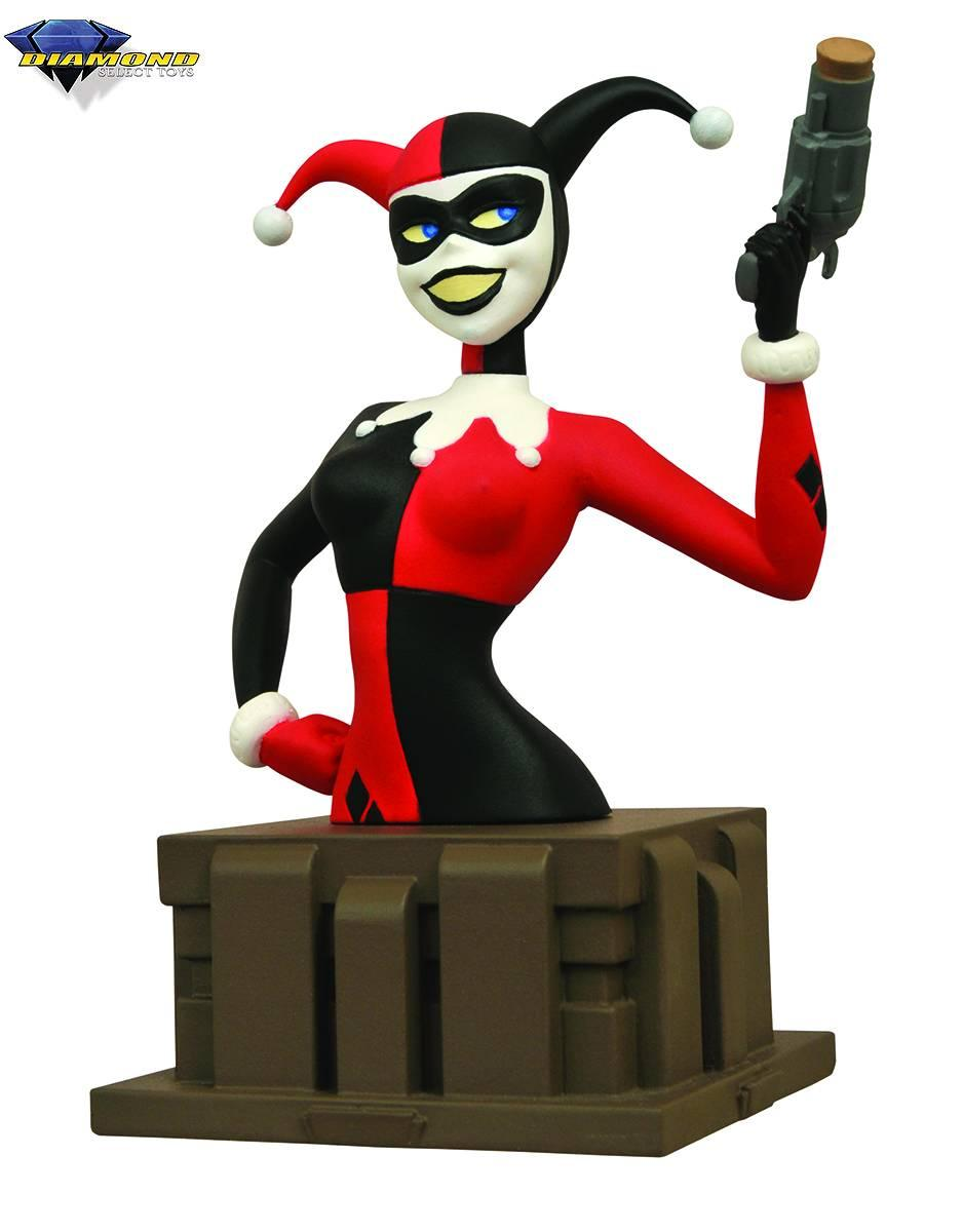 Diamond DC Comics Batman Animated Series Harley Quinn Bust
