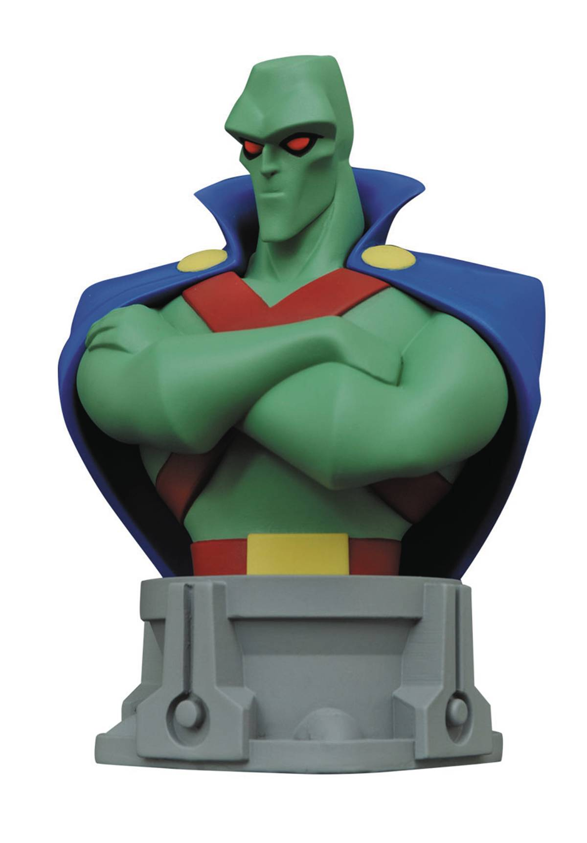 Diamond DC Comics JL Animated Series Martian Manhunter Bust