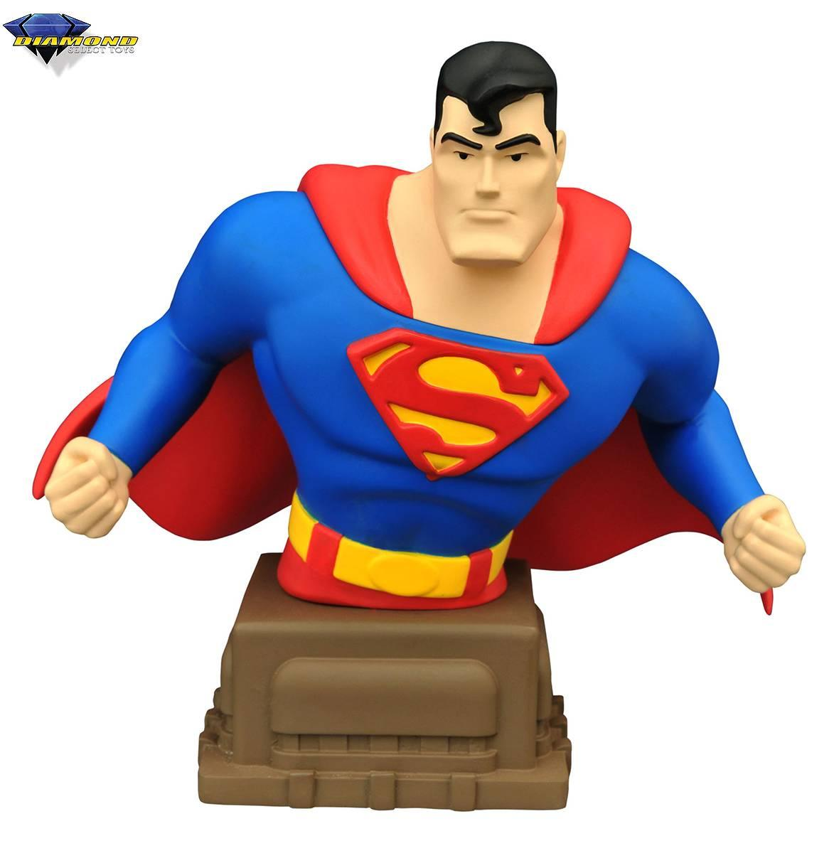 Diamond DC Comics Superman Animated Bust