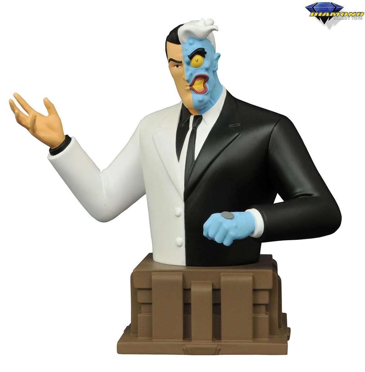 Diamond DC Comics Batman Animated Series Two-Face Bust