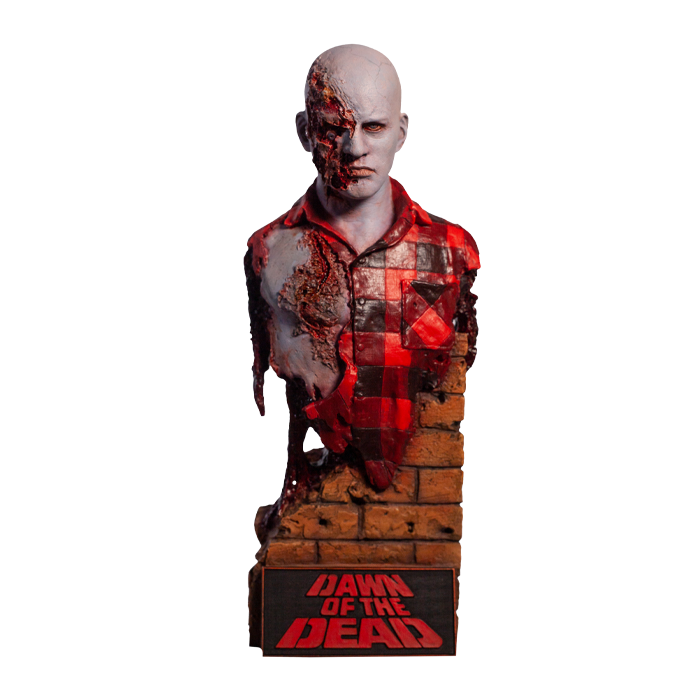 Pre-Order Trick or Treat Dawn of the Dead Airport Zombie Bust