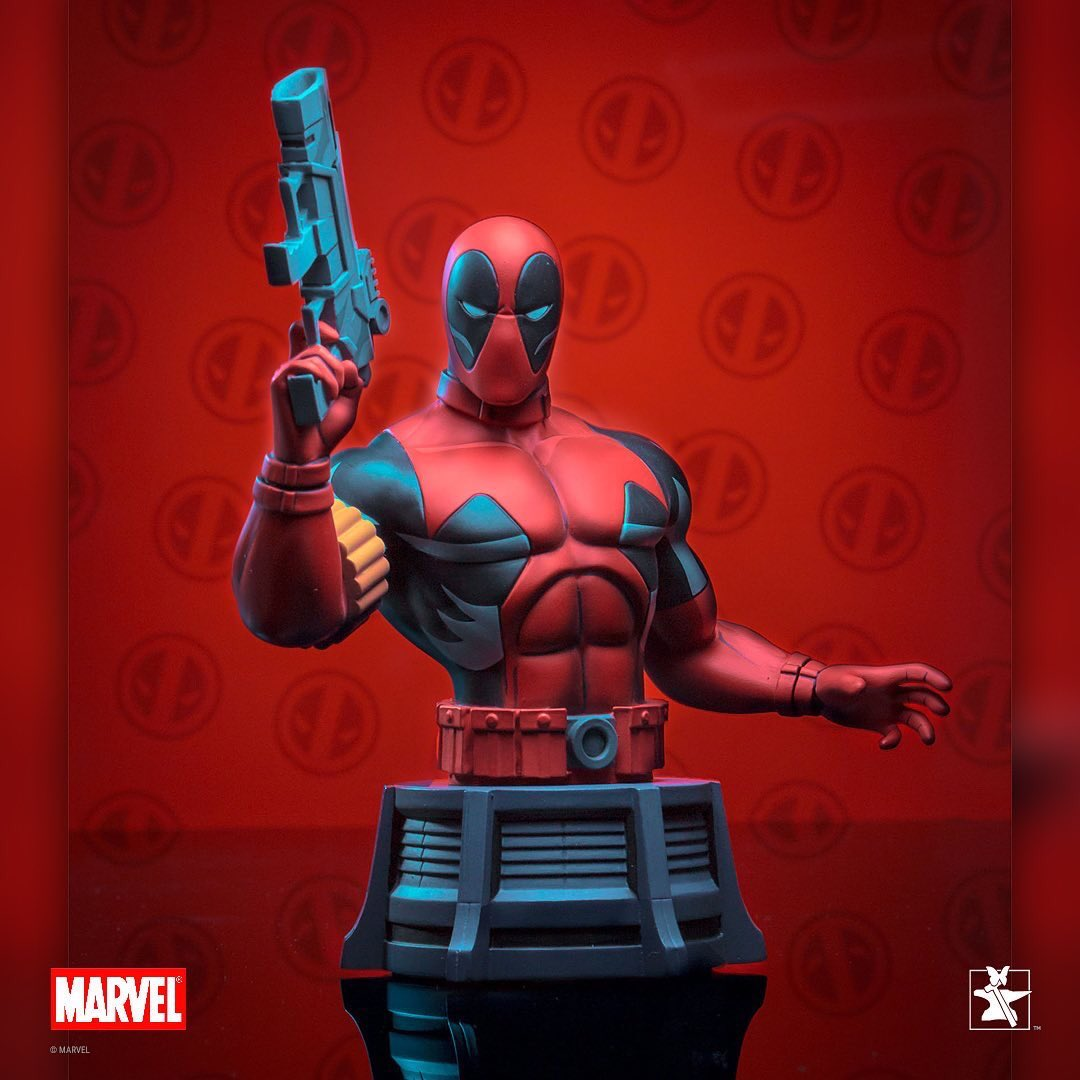 Diamond Marvel Animated Deadpool Bust