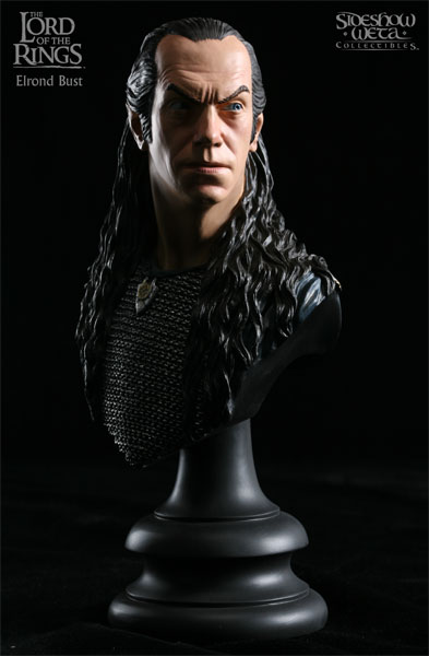 Weta Lord of the Rings Elrond Bust