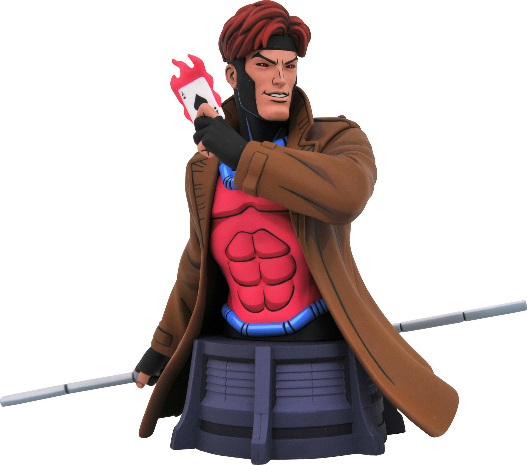 Pre-Order Diamond Marvel Animated Gambit Bust