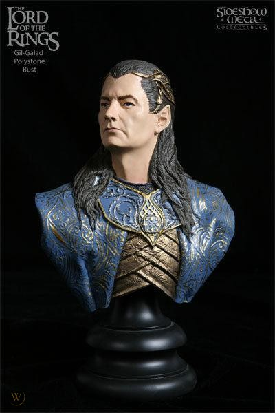 Weta Lord of the Rings Gil-Galad Bust