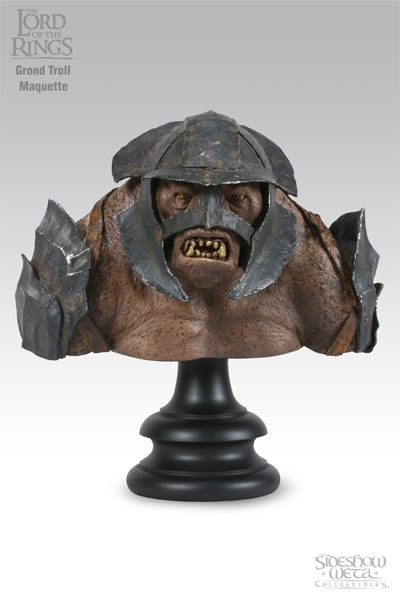 Weta Lord of the Rings Grond Troll Bust