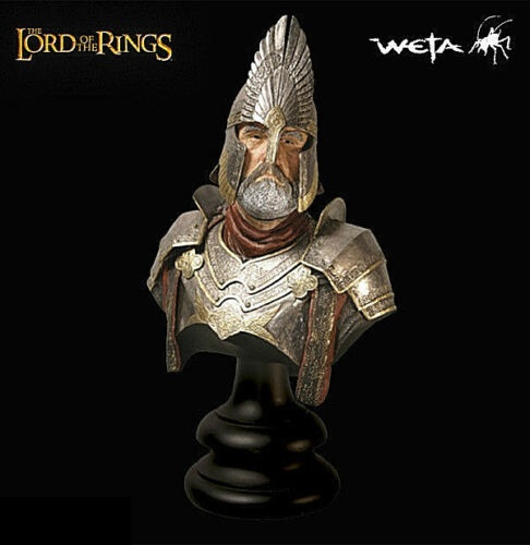 Weta Lord of the Rings King Elendil Bust