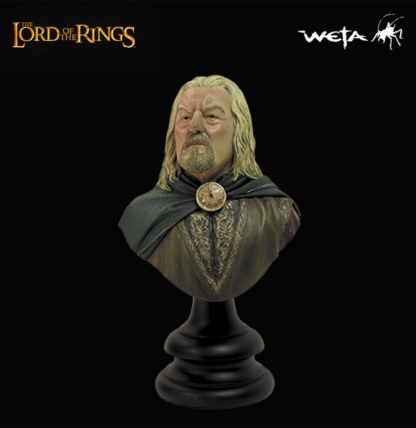 Weta Lord of the Rings King Theoden Bust