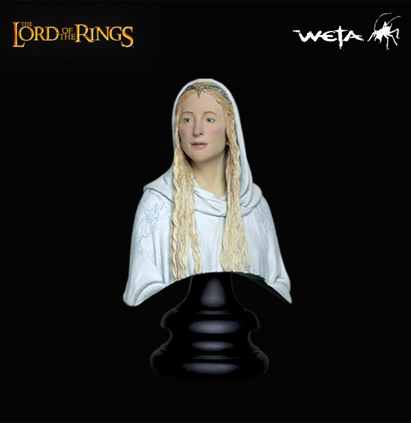 Weta Lord of the Rings Lady Galadriel Quarter Scale Bust