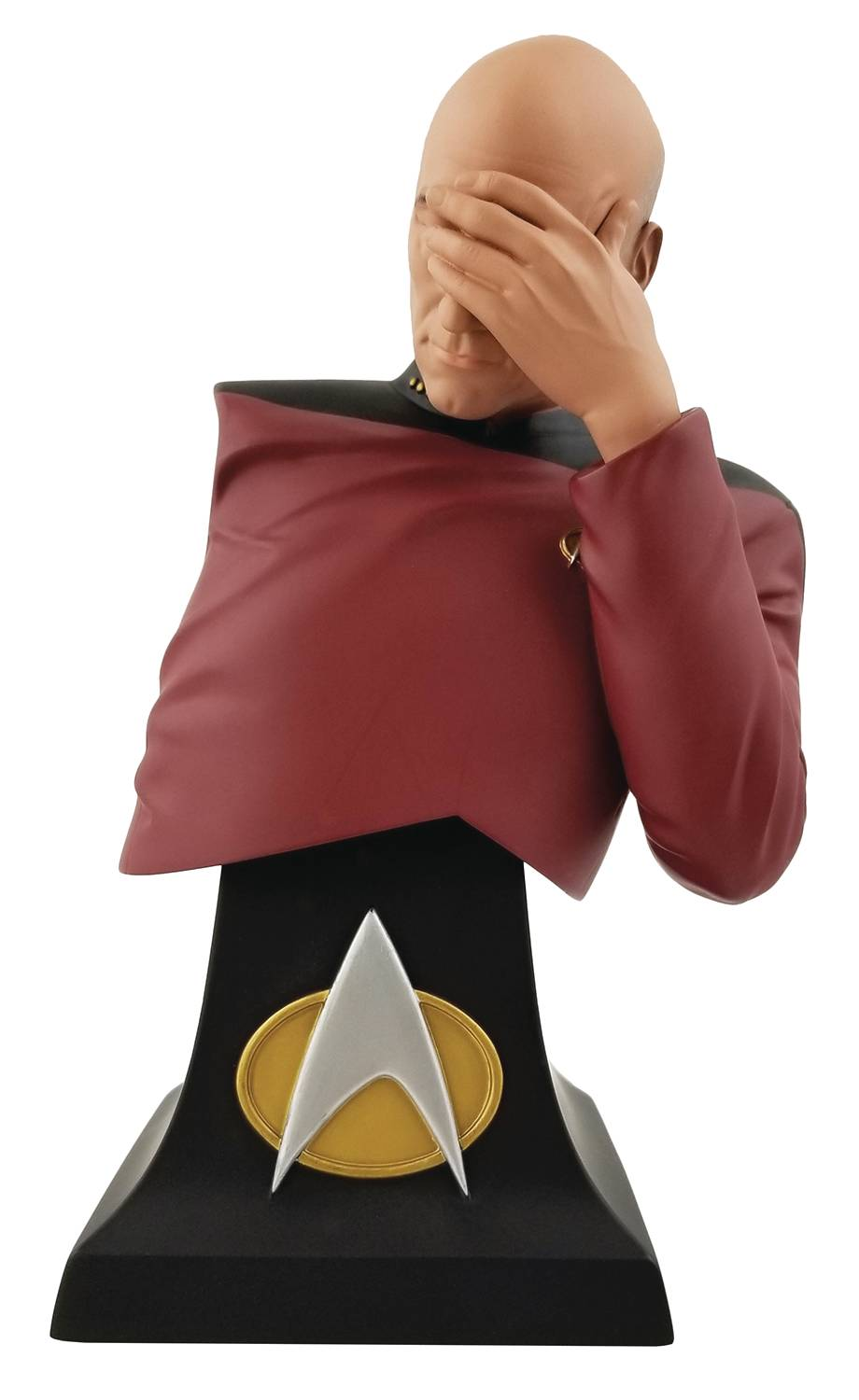Icon Heores Star Trek Picard Facepalm SDCC 2020 EX Bust