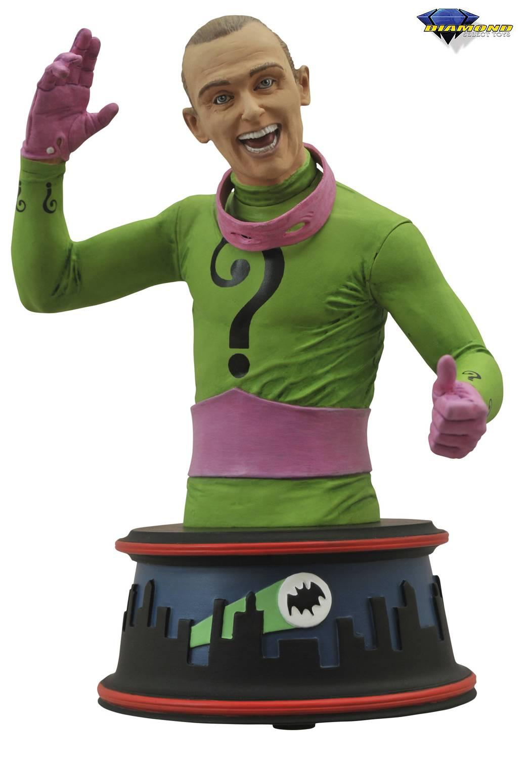 Diamond DC Comics Batman 1966 TV Series Riddler Mini-Bust
