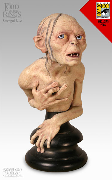 Weta Lord of the Rings Smeagol Bust