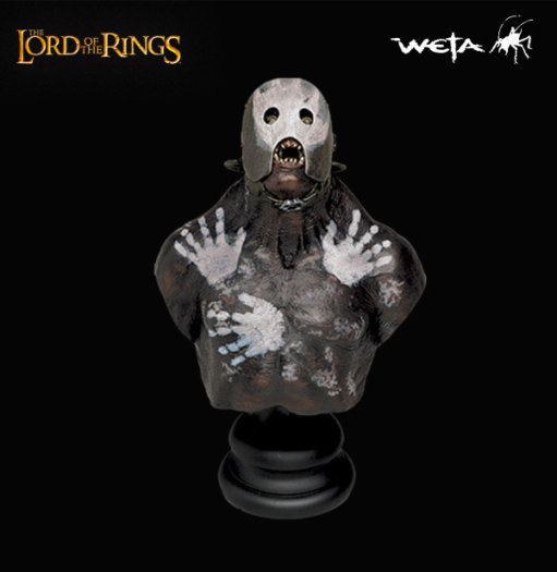Weta Lord of the Rings Uruk-Hai Berserker Bust