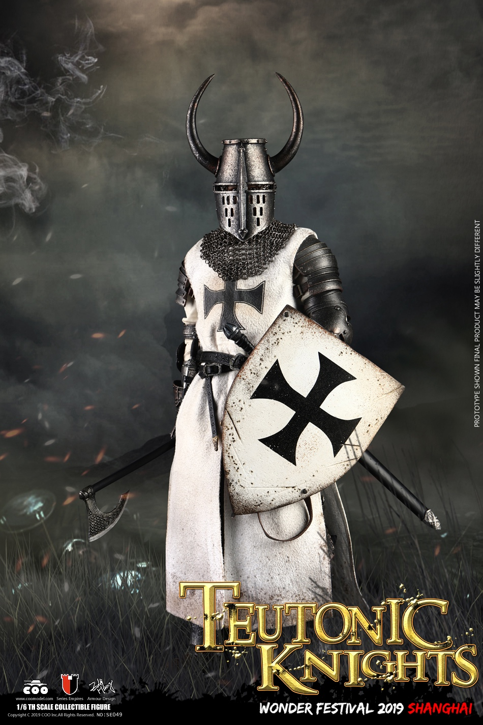 Pre-Order Series of Empires Crusader Teutonic Knight Figure