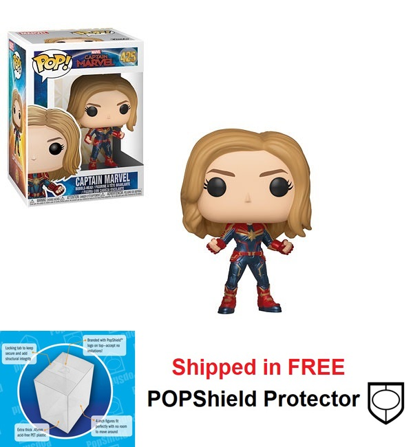 Funko POP Marvel Captain Marvel Movie Figure - #425