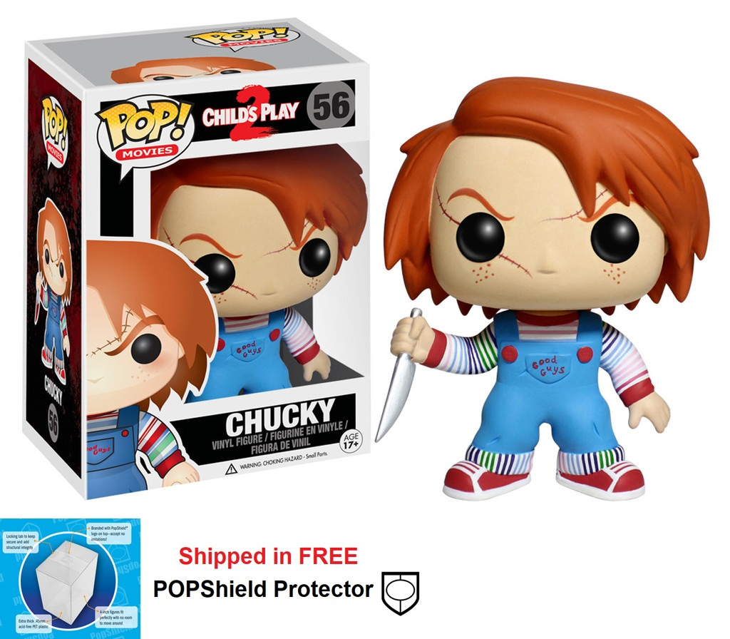 Funko POP Movies Child's Play Chucky Figure - #56
