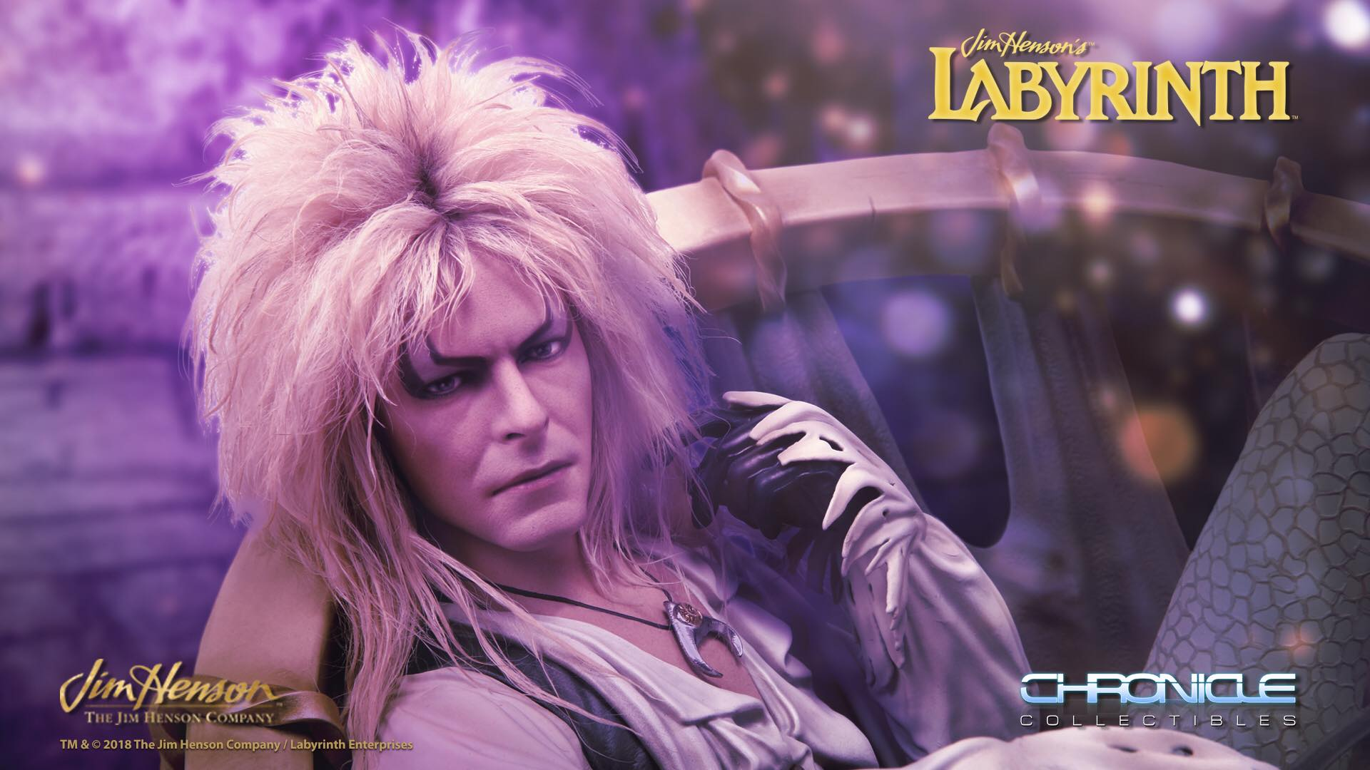 Pre-Order Chronicle Labyrinth Jareth on the Throne Statue