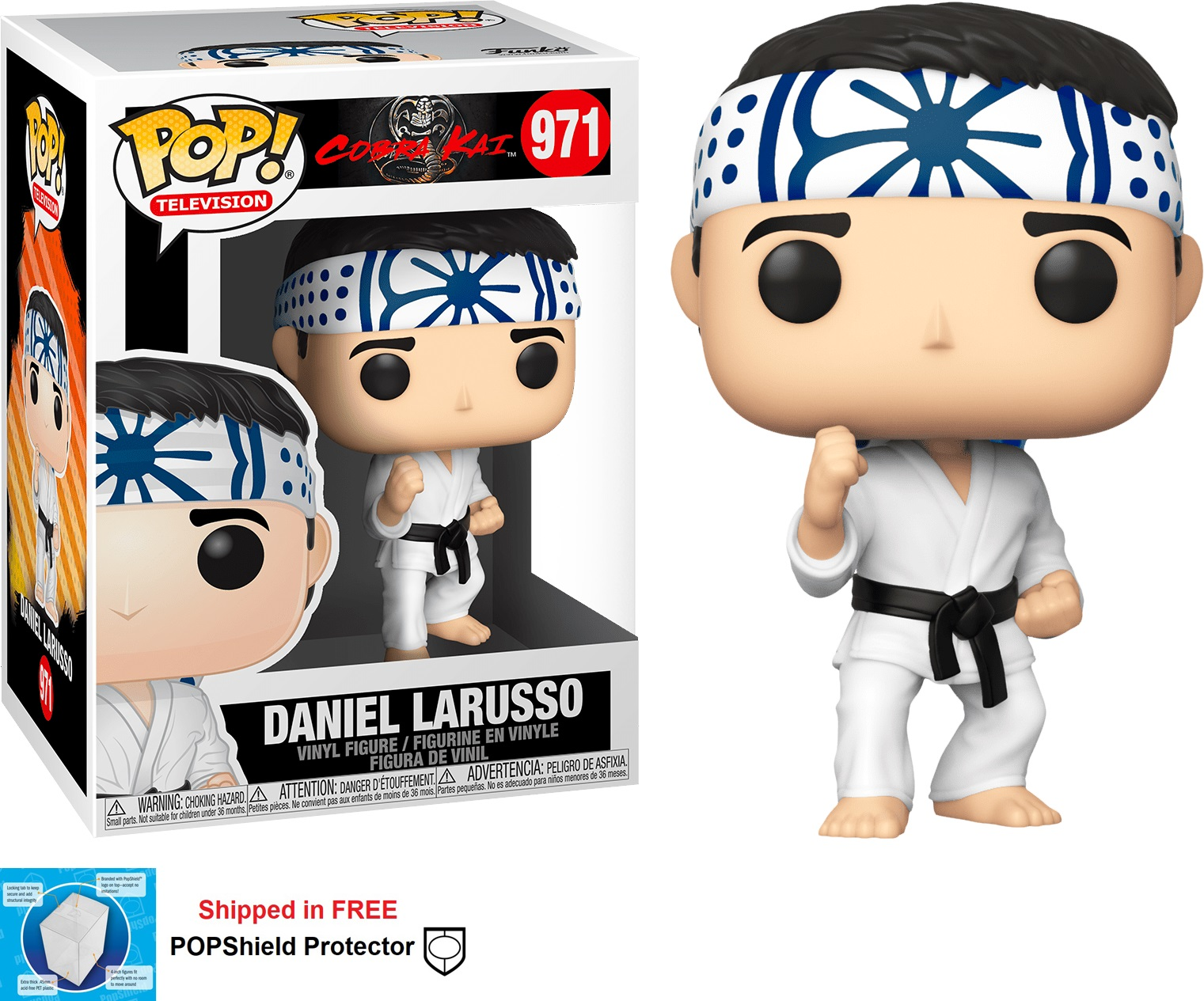 Funko POP TV Cobra Kai Daniel LaRusso - #971
