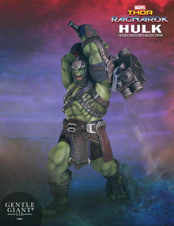Pre-Order Gentle Giant Marvel Collector's Gallery Hulk Ragnarok