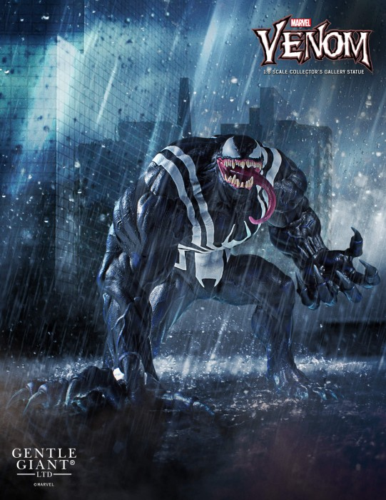 Gentle Giant Marvel Collector's Gallery Venom Statue