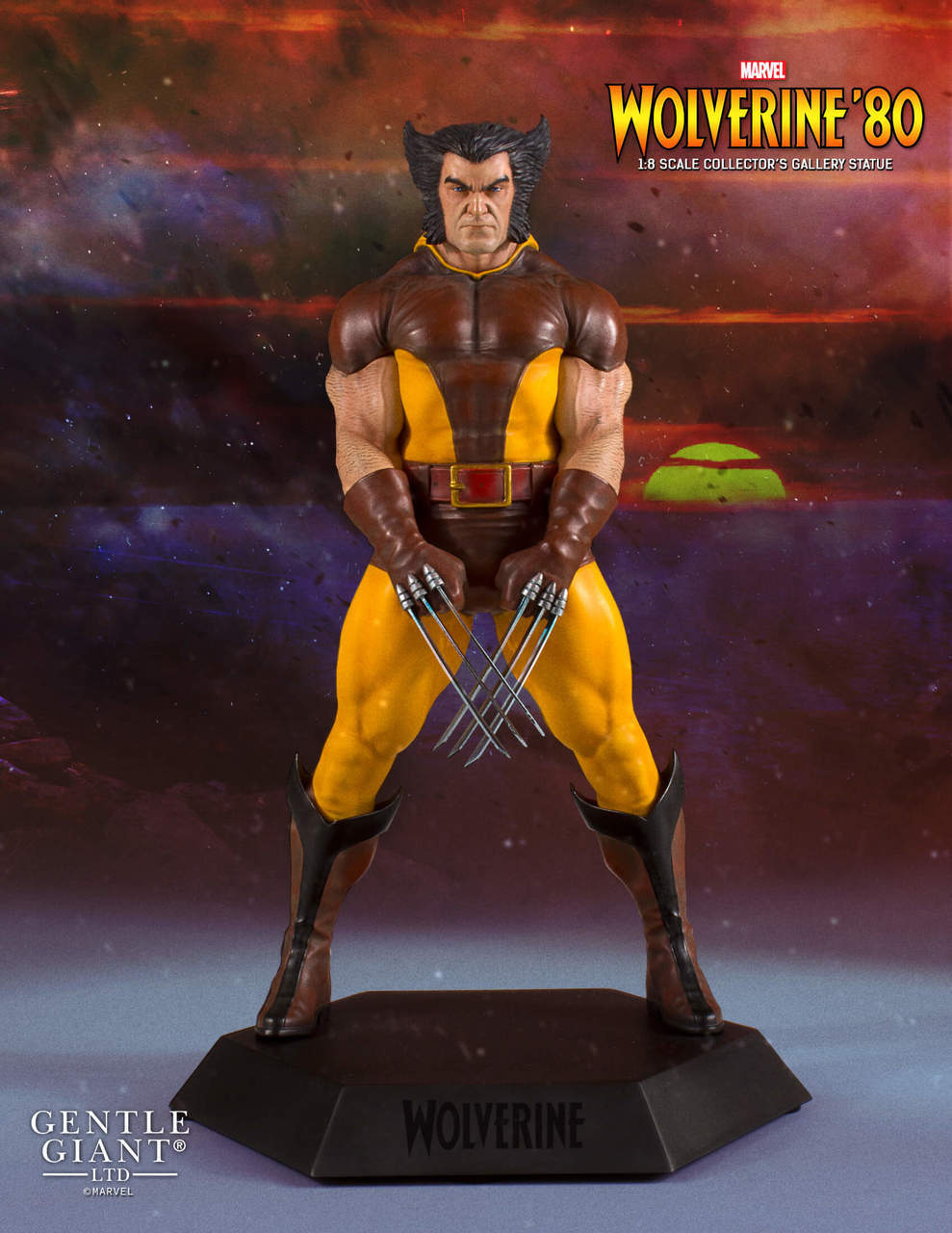 Gentle Giant Marvel Collector's Gallery Wolverine 1980 Statue