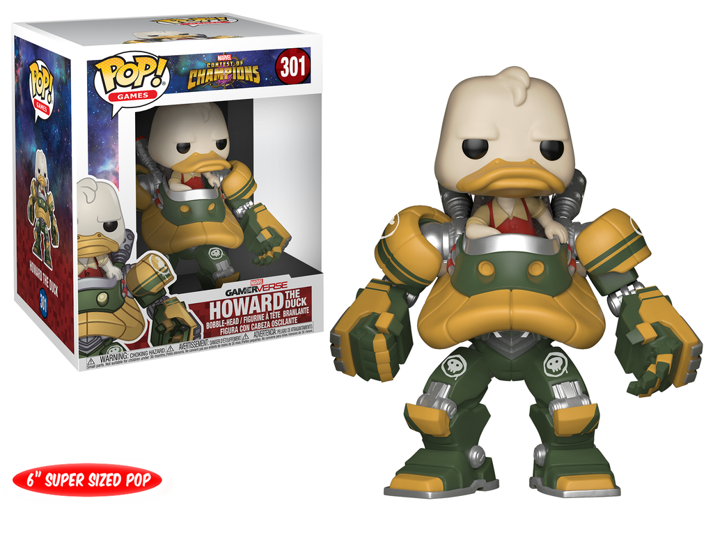 Funko POP Marvel Contest of Champions Howard the Duck - #301