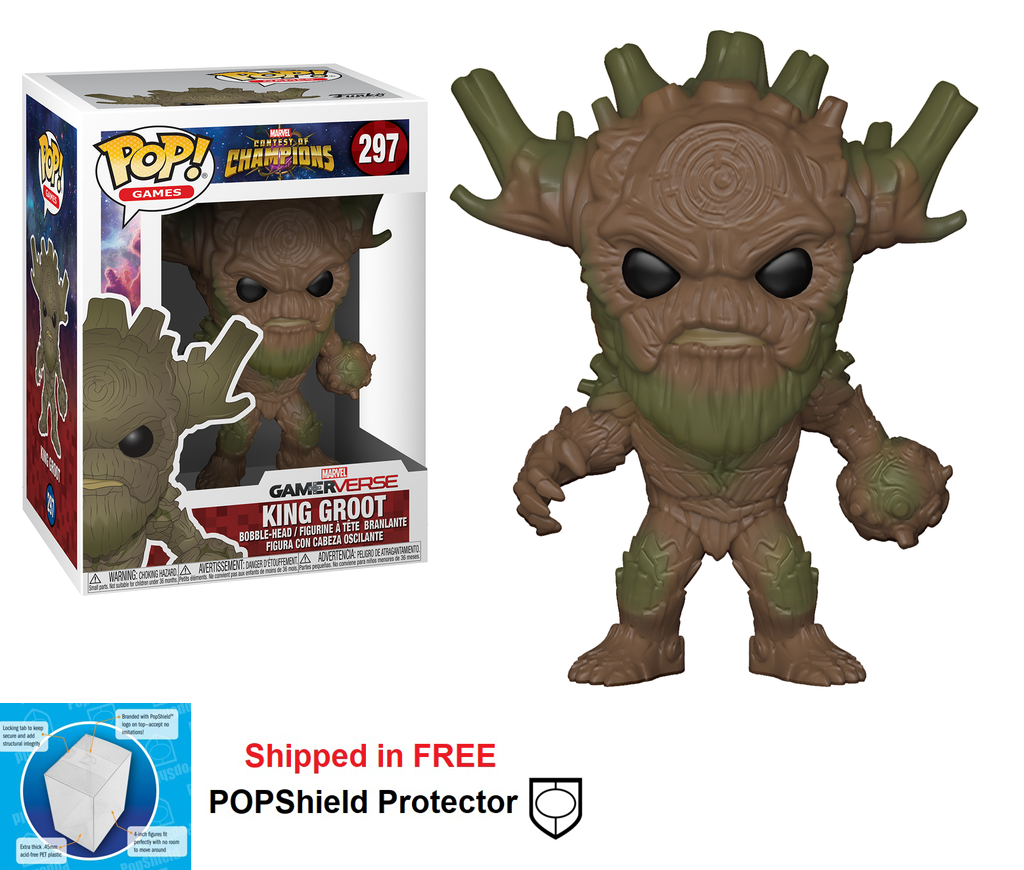 Funko POP Marvel Contest of Champions King Groot - #297