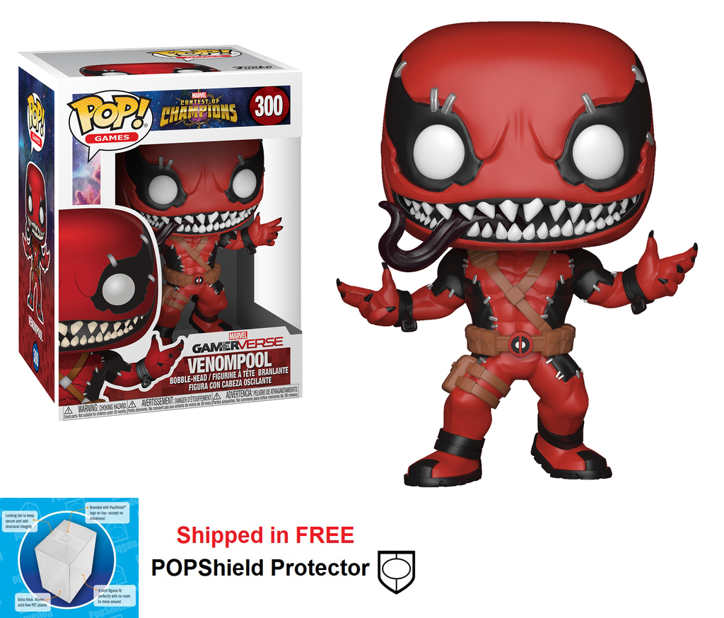 Funko POP Marvel Contest of Champions Venompool - #300