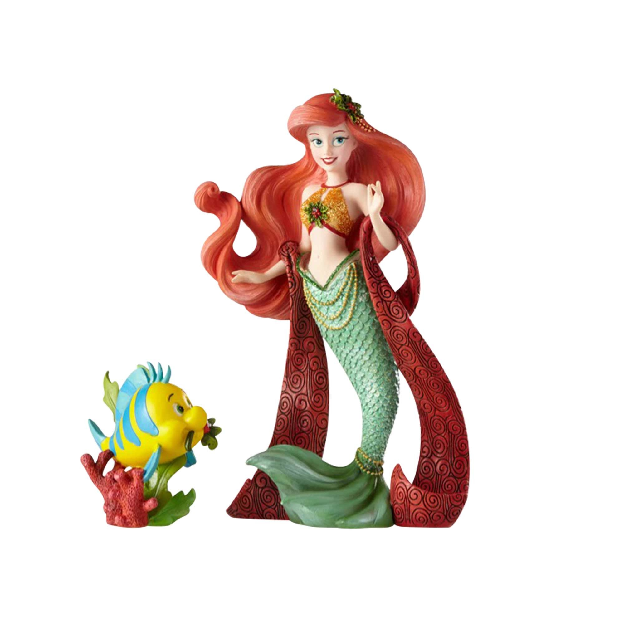 Disney Showcase Ariel Couture de Force Holiday Figurine