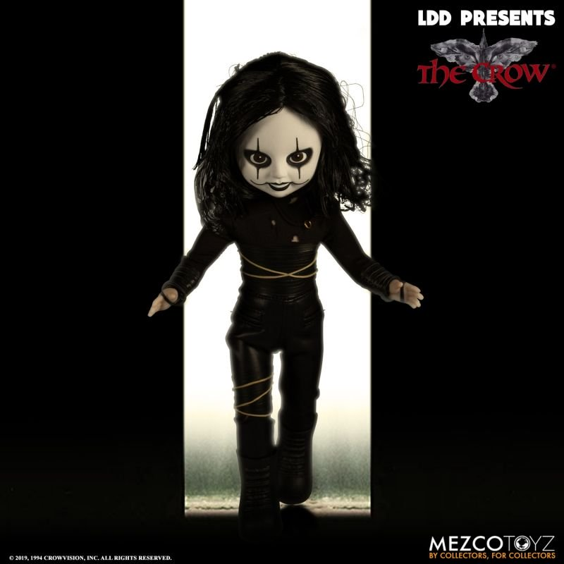 Pre-Order Mezco Living Dead Dolls The Crow