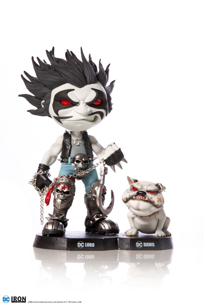 Iron Studios Mini Co. Lobo & Dawg Figure