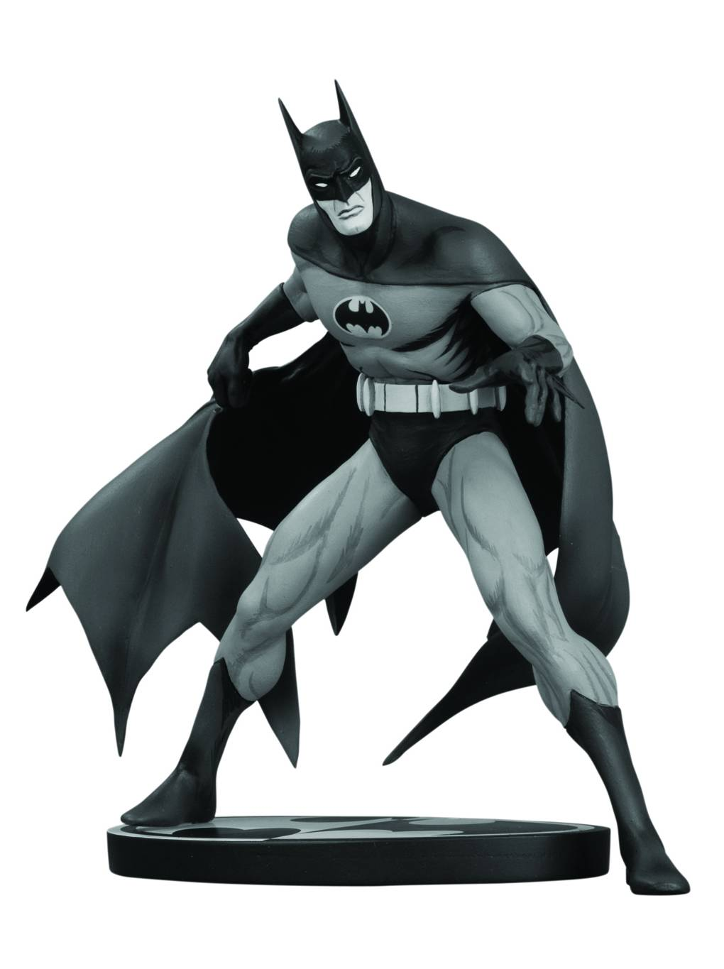 DC Comics Batman Black & White Jim Aparo Statue