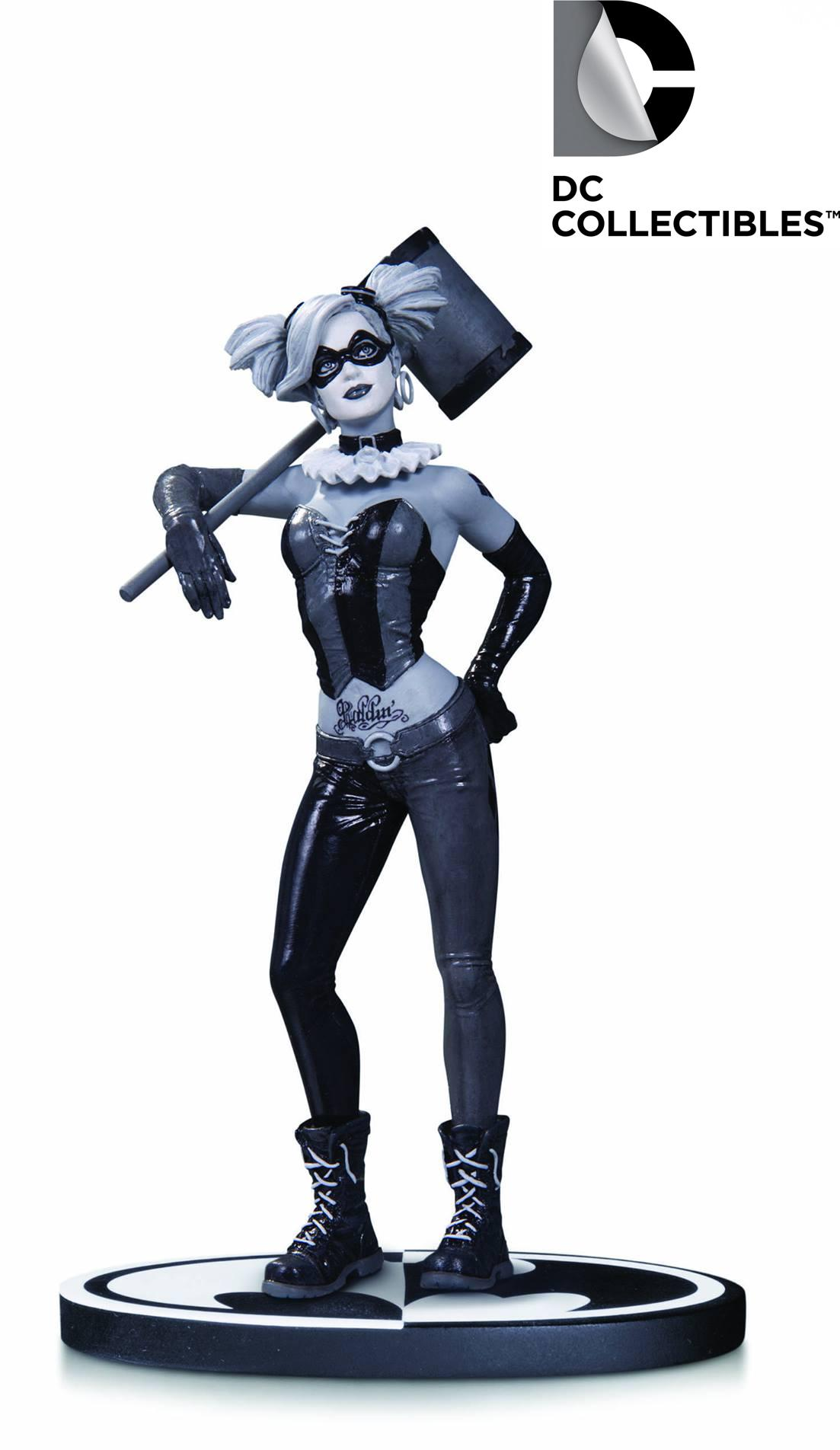 DC Comics Batman Black & White Lee Bermejo Harley Quinn Statue