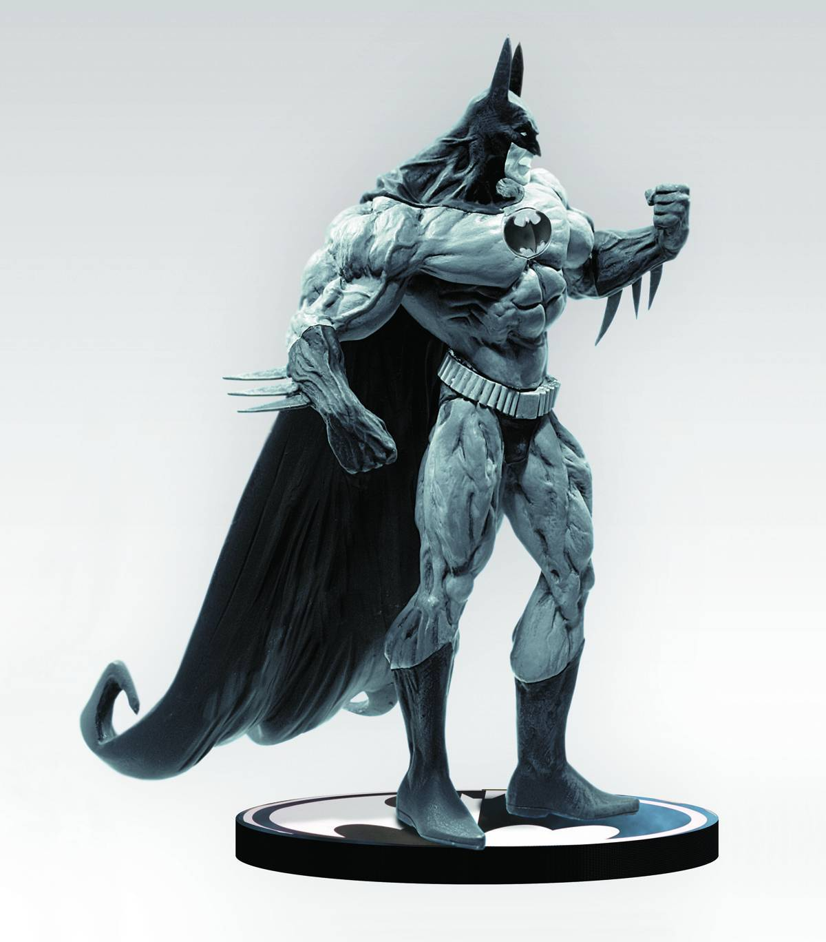DC Comics Batman Black & White Simon Bisley Statue