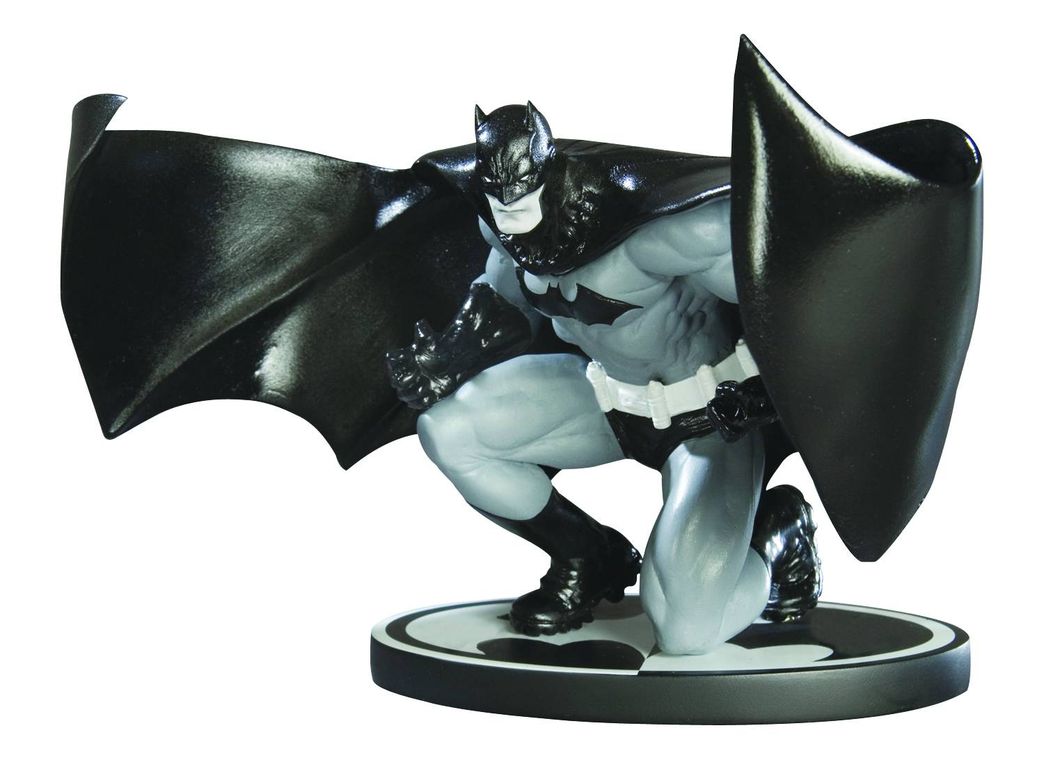 DC Comics Batman Black & White Jim Lee Statue