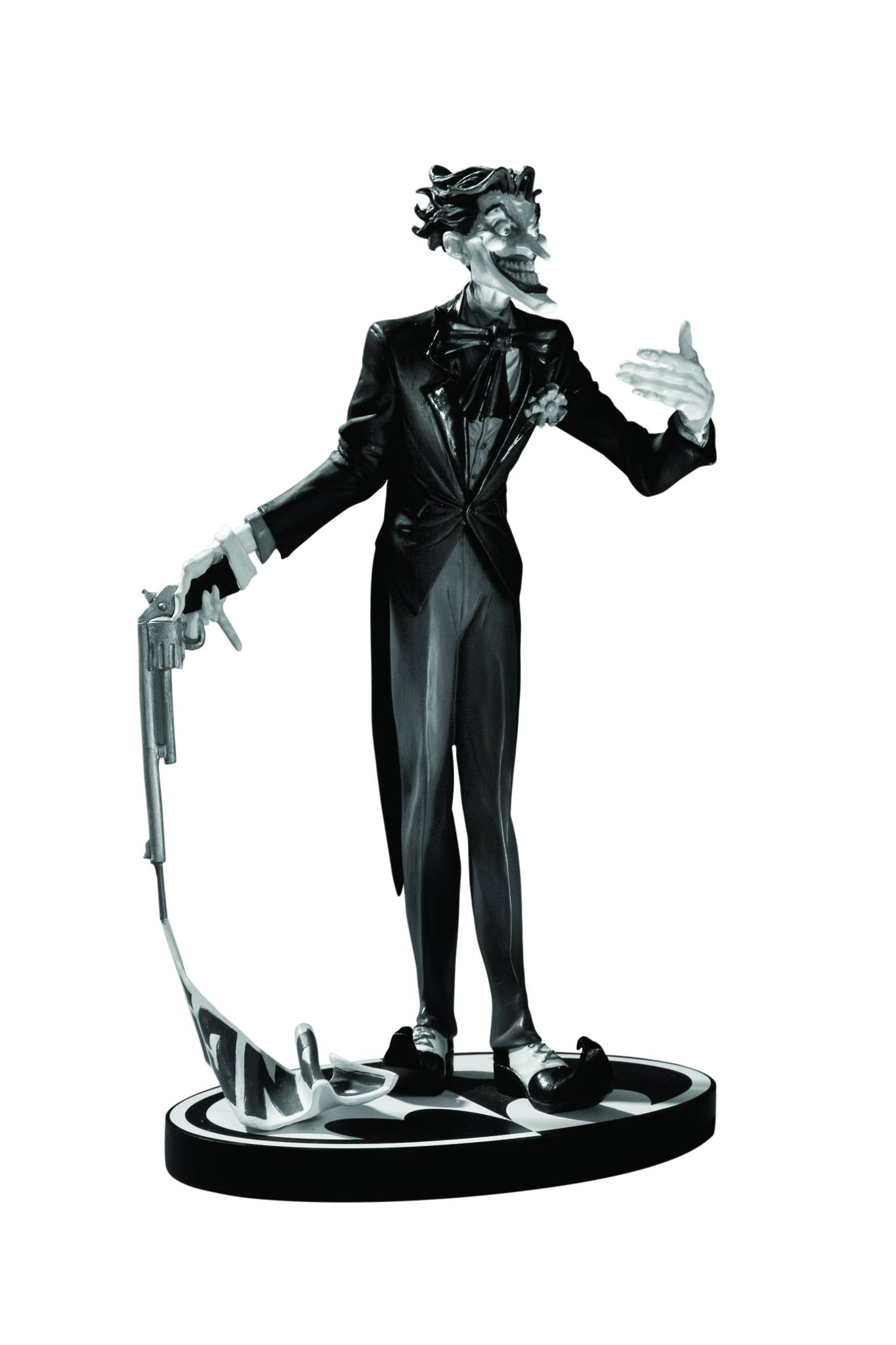 DC Comics Batman Black & White Jim Lee Joker Statue