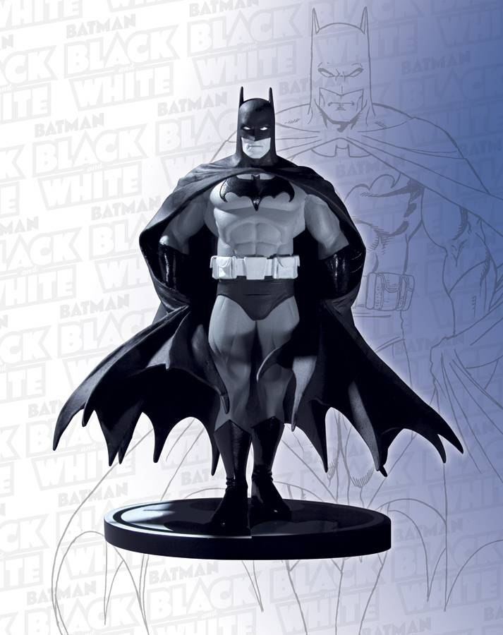 DC Comics Batman Black & White George Perez Statue