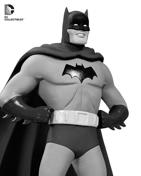 DC Comics Batman Black & White Dick Sprang Statue