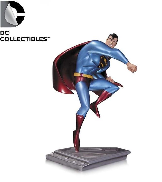 DC Comics Superman Man of Steel Animated Statue