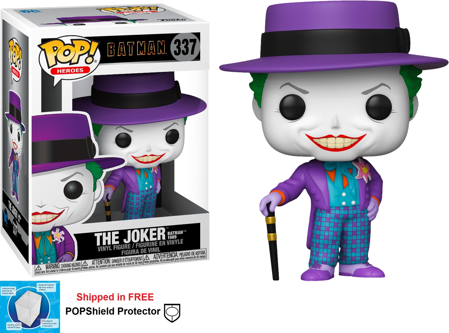 Funko POP DC Comics Batman 1989 The Joker - #337