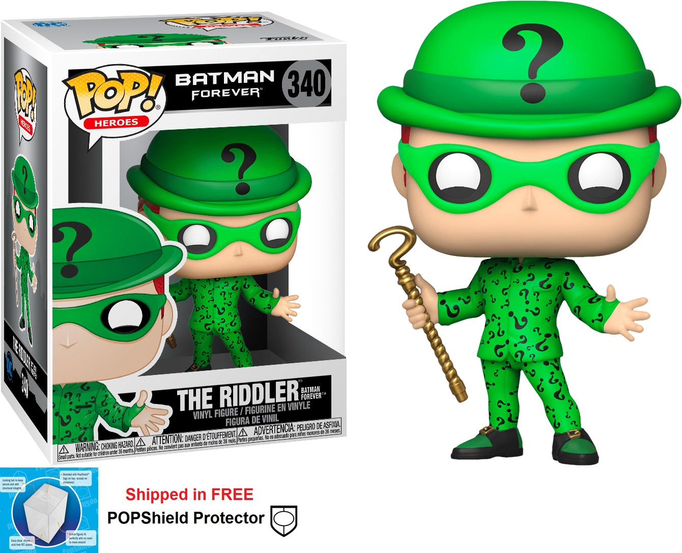 Funko POP DC Comics Batman Forever The Riddler - #340