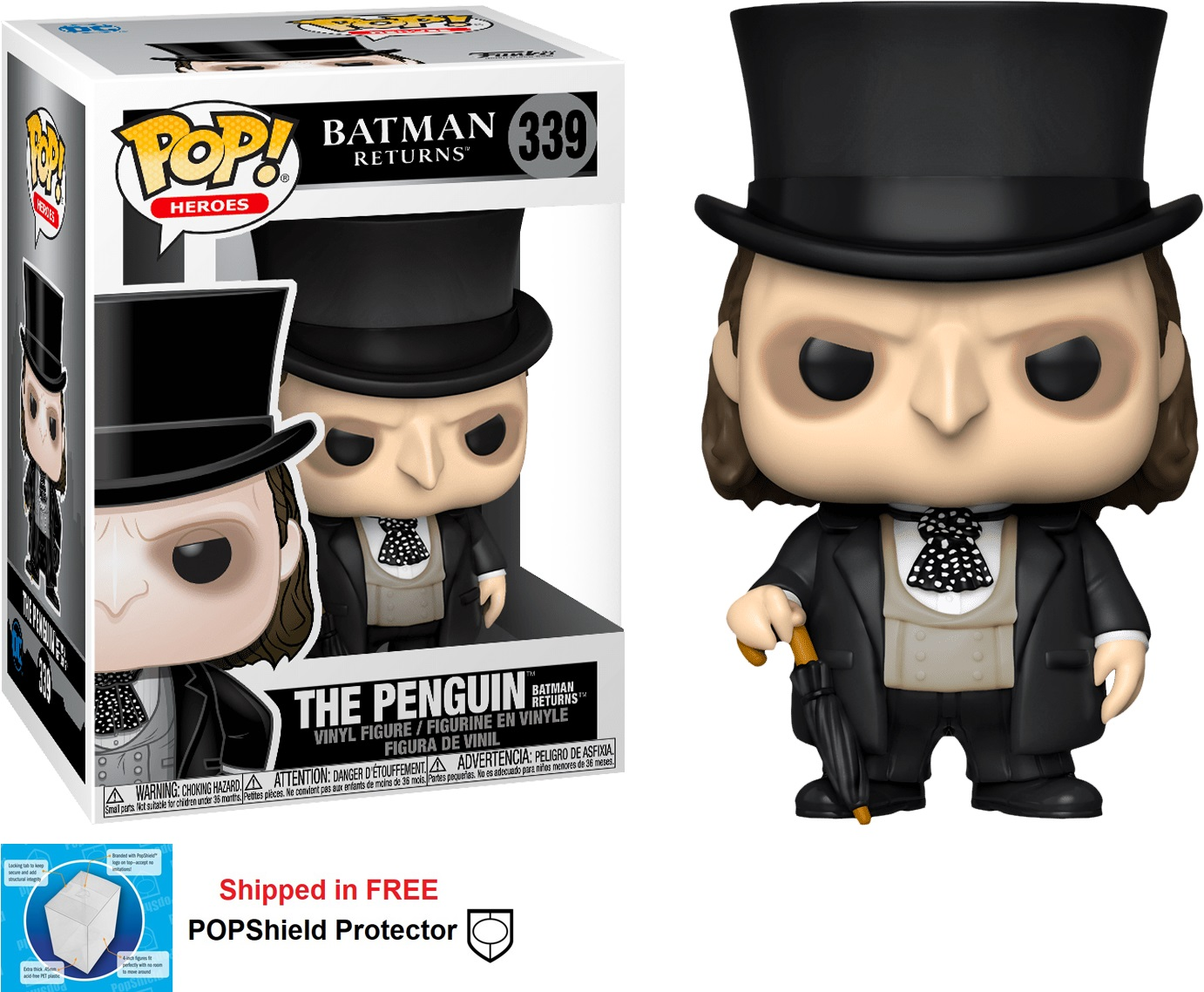 Funko POP DC Comics Batman Returns The Penguin - #339