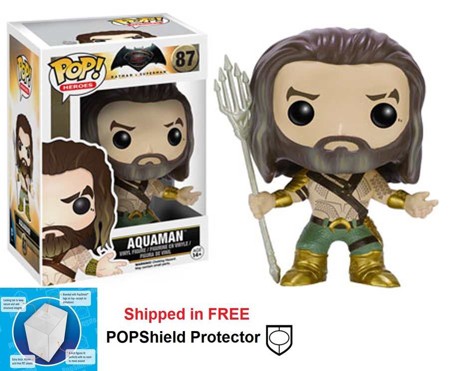 Funko POP DC Comics BvS Aquaman Figure - #87