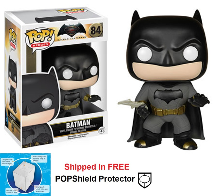 Funko POP DC Comics BvS Batman Figure - #84