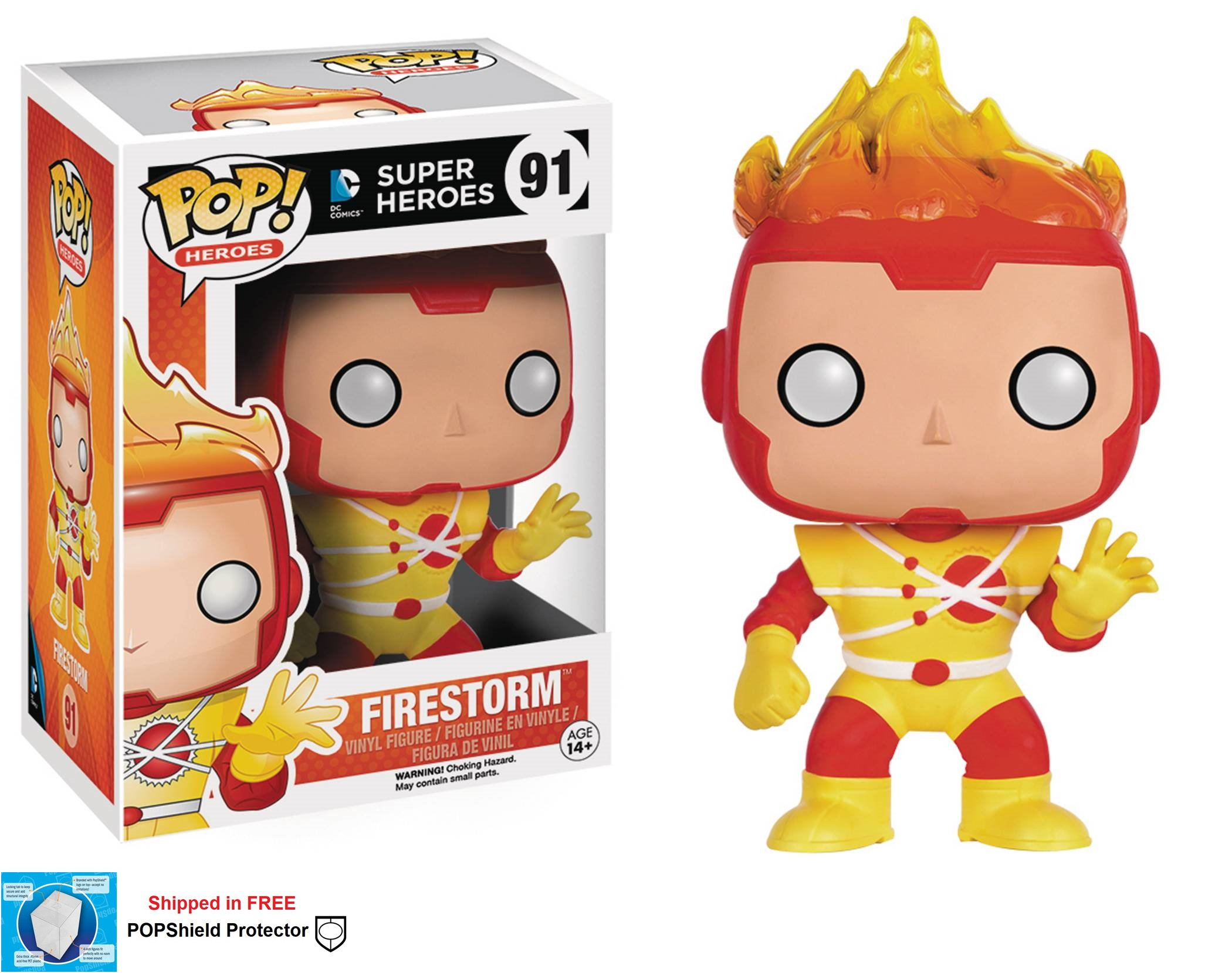 Funko POP DC Comics Firestorm Figure - #91