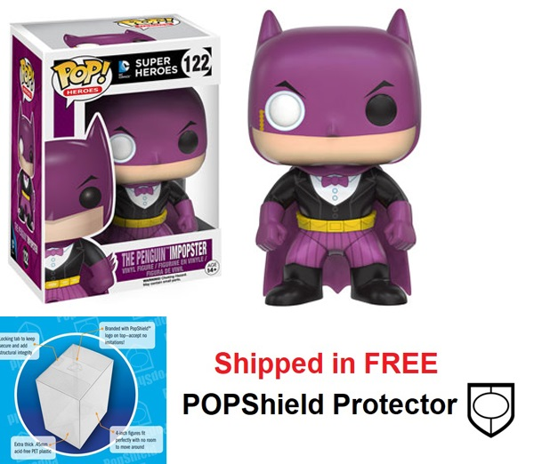 Funko POP DC Comics Impopster Penguin Figure - #122