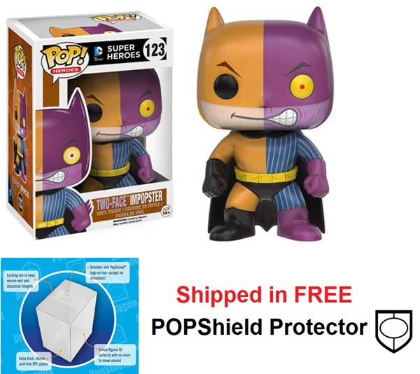 Funko POP DC Comics Impopster Two-Face Figure - #123