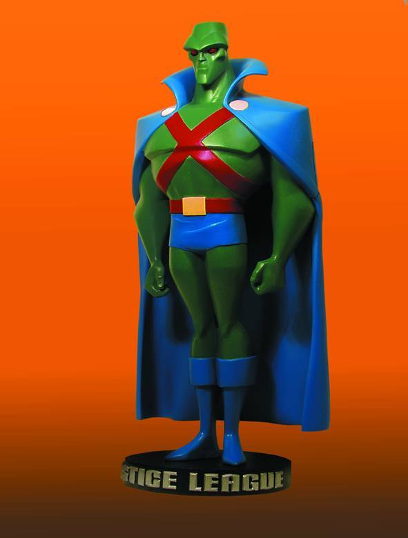 DC Comics Justice League Animated Martian Manhunter Maquette